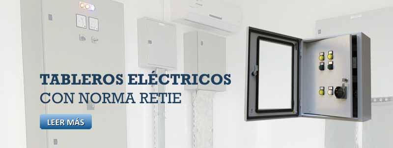 Tablero de control electrico inicio